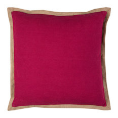 "Rizzy Home T11545 22"" x 22"" Throw Pillow with Zipper Closer"
