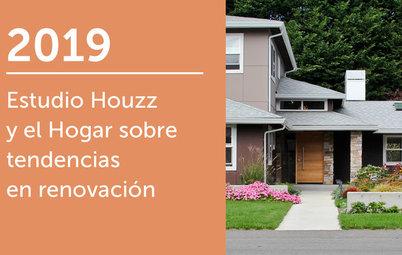 Estudio Houzz y el Hogar sobre tendencias en renovación 2019