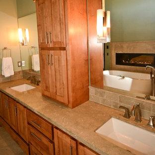 Bathroom - contemporary bathroom idea in Denver
