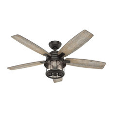 "Hunter 52"" Coral Bay Ceiling Fan with Light 59420 - Noble Bronze"