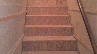 Habillage d'escalier