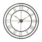 Lehman Wrought Iron Gallery Wall Clock