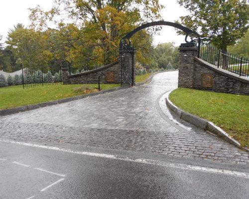 Sloped Driveway Ideas Houzz