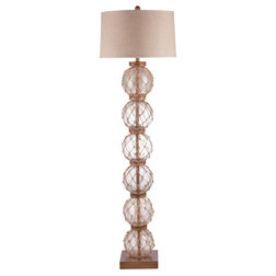 Beach Style Floor Lamps by BASSETT MIRROR CO.