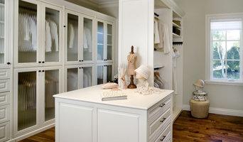 Valet Custom Cabinets & Closets - Siena Collection Closet