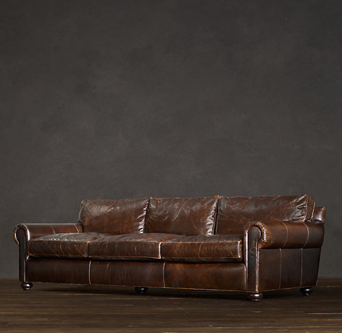 Restoration Hardware Offers A Traditional Couch With Curved Arms The Lancaster Or More Masculine Maxwell Both Are Great But Can T Pick Between