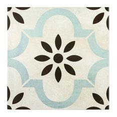 """Anabella 9""""x9"""" Porcelain Field Tile, Prado"""