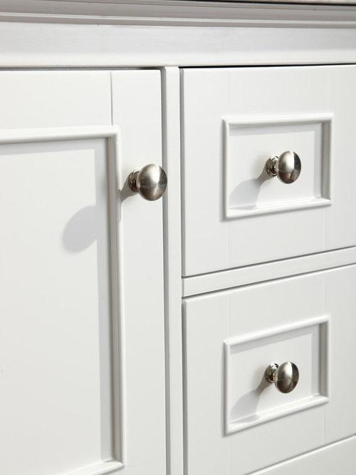 """New 42"""" Cape Cod Bathroom Vanity - White"""