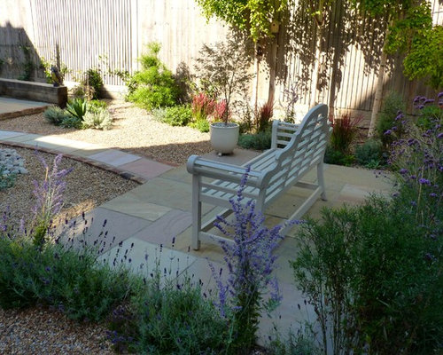 Gravel garden in eastbourne for Garden design eastbourne
