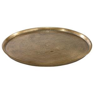 Miramar Round Decorative Plate, Large