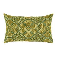 Elaine Smith Borneo Tile Lumbar Pillow