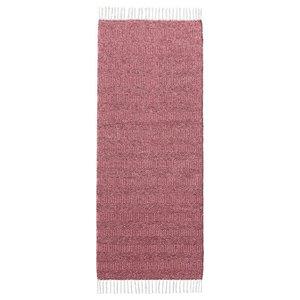 Maja Red Vinyl Floor Cloth, 150x250 cm