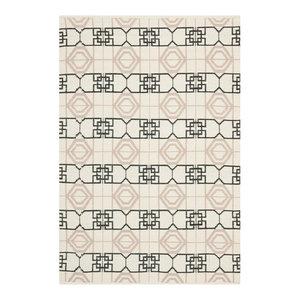 Collin Taupe Indoor/Outdoor Rug, 121x182 cm