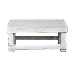 White Original Coffee Table No Shelf
