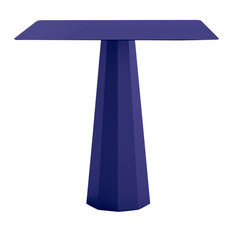 Ankara Square Dining Table, Aluminium, Ultramarine