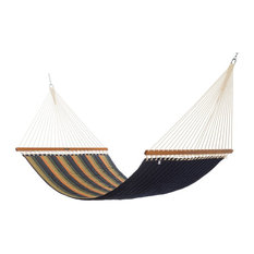 Pawleys Island Hammocks Large Quilted Sunbrella Fabric Hammock, Gateway Aspen