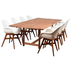 Midcentury Outdoor Dining Sets by International Home Miami Corp