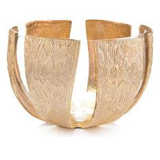 Bowl JOHN-RICHARD Transitional Gold Glass