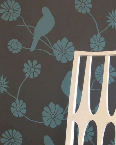 Eclectic Wallpaper by Spruce Eco-Studio