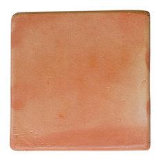 """11.5""""x11.5"""" Terracotta Super Sealed Saltillo Floor Tile, Set of 200"""