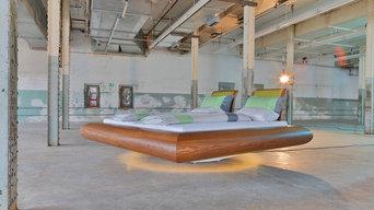 Drehbares Bett mit integriertem Sound!