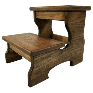 Superb Range Kleen Ss2 Double Step Stool Gray Contemporary Evergreenethics Interior Chair Design Evergreenethicsorg