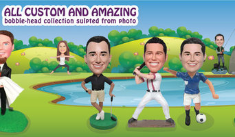 Custom Bobbleheads with 20% OFF