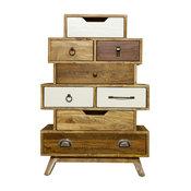 BB Design Camden Vintage 8-Drawer Dresser
