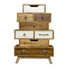 BB Designs - BB Design Camden Vintage 8-Drawer Dresser - Chests of Drawers
