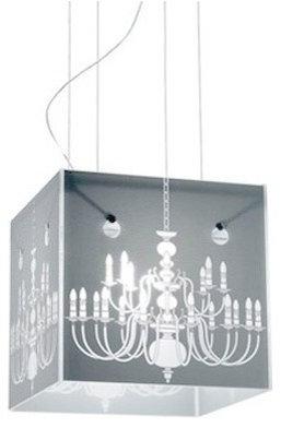 Glass Box Pendant Light - Pendant Lighting