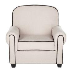 Safavieh Tiny Tycoon Club Chair, Taupe