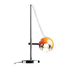 Moon Desk Lamp, Orange