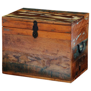 VidaXL Reclaimed Solid Wood Storage Box