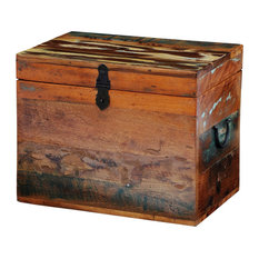 VidaXL Reclaimed Solid Wood Storage Box