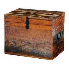 vidaXL - VidaXL Reclaimed Solid Wood Storage Box - Storage Bins and Boxes