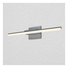 "VONN VMW16920 Procyon 1 Light 25""W Integrated LED Bath Bar - Silver"