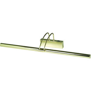 Slimline Picture Light Switched, Polished Brass