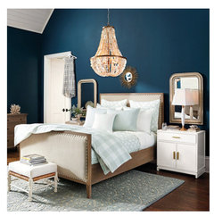 This Color Seems Similar To Loyal Blue At Least On My Monitor I Don T Particularly Care For The Pale Spa Colored Bedding Natural Linen Looks Good