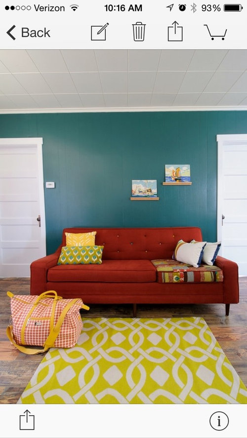 Need Help With Teal Accent Wall