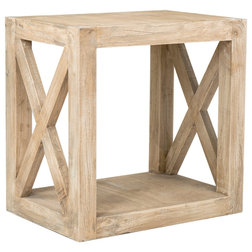 Rustic Side Tables And End Tables by Ecotessa