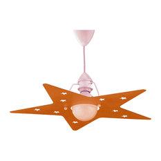 Stella Pendant Lamp, Orange