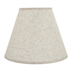 """32291 Hardback Empire Shaped Spider Lamp Shade, Flaxen, 14"""" wide, 7""""x14""""x11"""""""