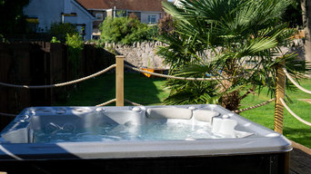 Sue's Self Cleaning Hot Tub, Garden Room and Decking Installation