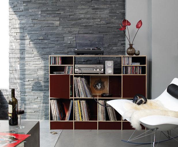 21 idee per esporre i vinili in modo stiloso e rock 39 n 39 roll. Black Bedroom Furniture Sets. Home Design Ideas