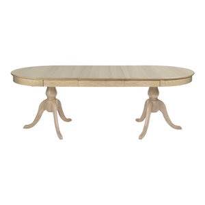 Hampton Chalk Oak 6-8 Extension Table