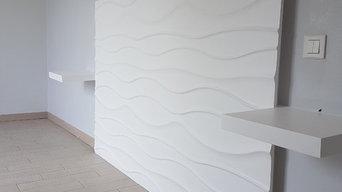 Décoration et aménagement intérieure d'une maison contemporaine