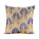 "Ivory Throw Pillow Covers 16""x16"" Silk, Burj Al Arab"