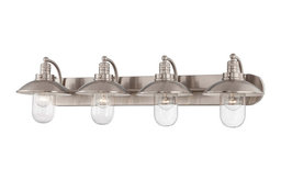 Minka Lavery 5134-84 4-Light Bath, Brushed Nickel