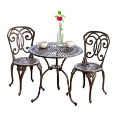 French Bistro Table And Chairs outdoor pub and bistro sets | houzz