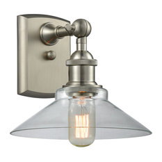 Orwell 1-Light Sconce, Brushed Satin Nickel